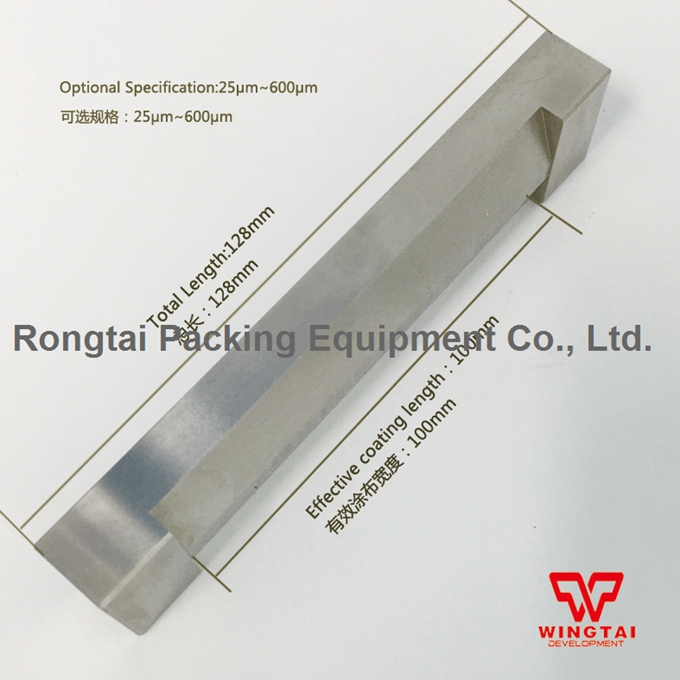 BGD201 Single film applicator, single wet film applicators width 100mm for paint wet film applicator wet film comb cm 8000 used for checking the thickness coating of wet paint enamel lacquer adhensive