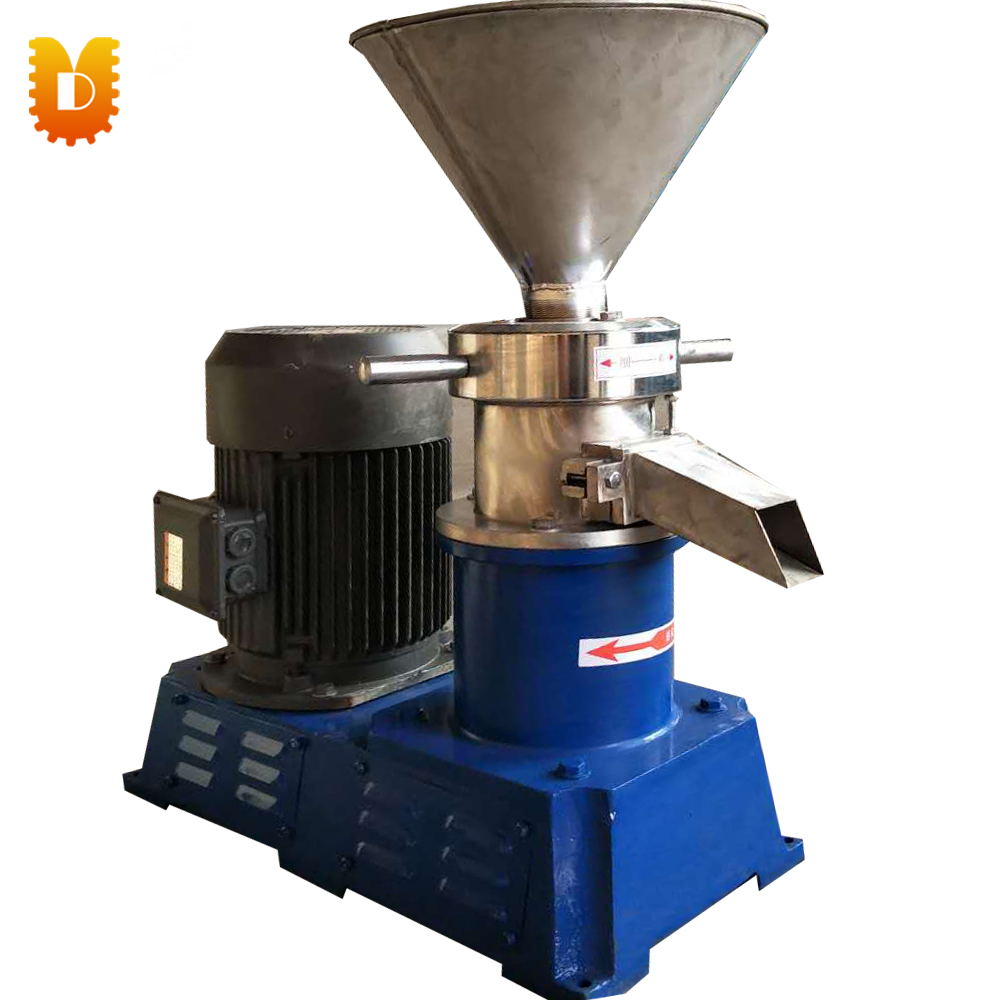 JMS-80 Chemical Type / Colloid Mill, Peanut Butter Machine, Sesame Grinder, Sauce / Paste Making Machine colloid mill grinder peanut butter maker machine sesame paste grinder nut butter making machine