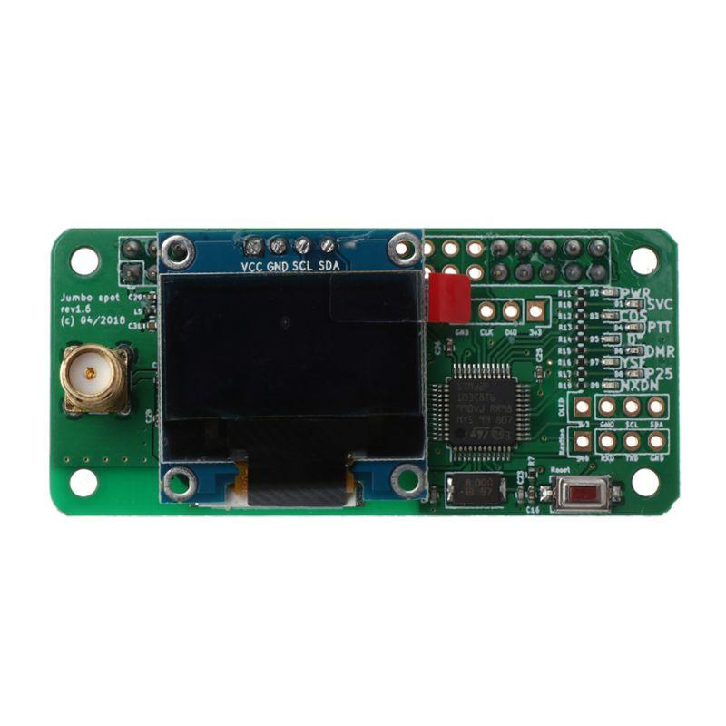 Support de Hotspot MMDVM P25 DMR YSF NXDN pour Raspberry Pi + OLED + Module de Hotspot d'antenne - 4