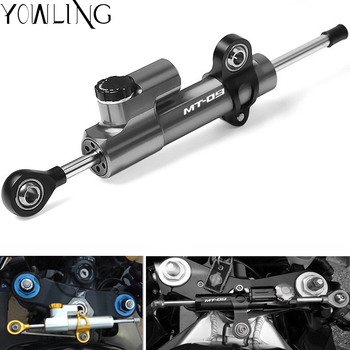For Yamaha MT 09 MT09 MT-09 FZ09 FZ-09 20132014 2015 2016 2017 Motorcycle Damper Steering Stabilize Safety Control Mount kit недорого