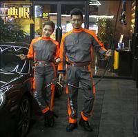 Car work shop Work clothes Auto repair Overalls 4S work cloth Autumen