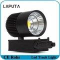 10pcs 20W COB LED Track Light Clothing Store LED Rail Light High Bright AC85-265V Warm/Cold White Ceiling Spotlight
