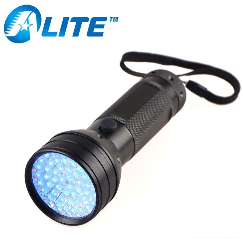 [Free Ship] <font><b>51</b></font> <font><b>LED</b></font> Detection UV Light 385-395nm <font><b>LED</b></font> UV Flashlight torch Ultra Violet adhesive glue curing