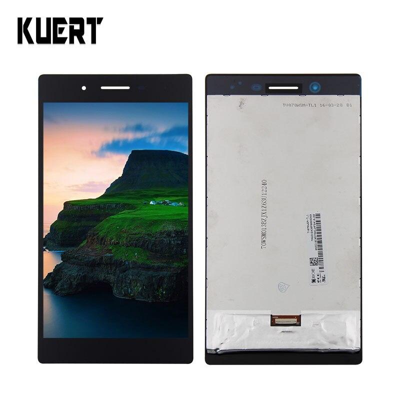 Для lenovo TAB3-730 Tab 3 730 730F 730 м 730X TB3-730 дискретизатор для экрана дисплея Touch Панель Стекло Ассамблея Бесплатные инструменты