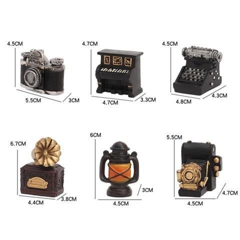 Retro Radio Pianos Cameras Lamp Model Antique Imitation Nostalgia Wireless Ornaments Craft Bar Home Decor Multan