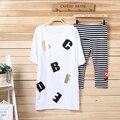Mamalove Tops e t-shirt calças de roupas de maternidade maternidade top t-shirt Tops amamentação roupas de enfermagem para mulheres grávidas