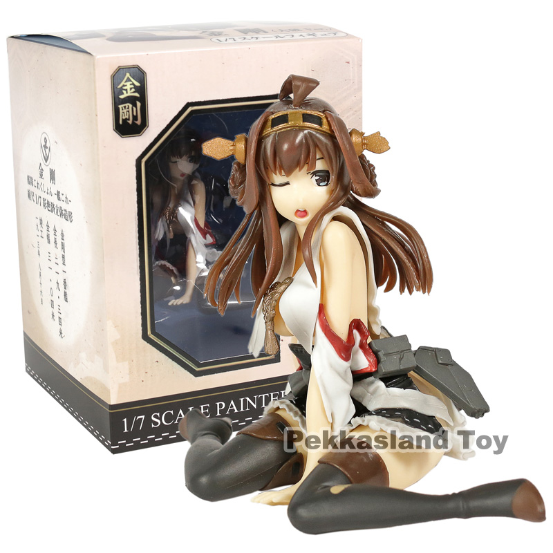 <font><b>Anime</b></font> <font><b>Sex</b></font> <font><b>Figure</b></font> Kantai Collection Sitting Kongou PVC <font><b>Action</b></font> <font><b>Figure</b></font> Collectible Model Toys Doll image