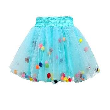35a529a65 Las niñas amarillo negro Tutu faldas bebé esponjoso baile de Ballet Tutu  tul Pettiskirts con cinta ...