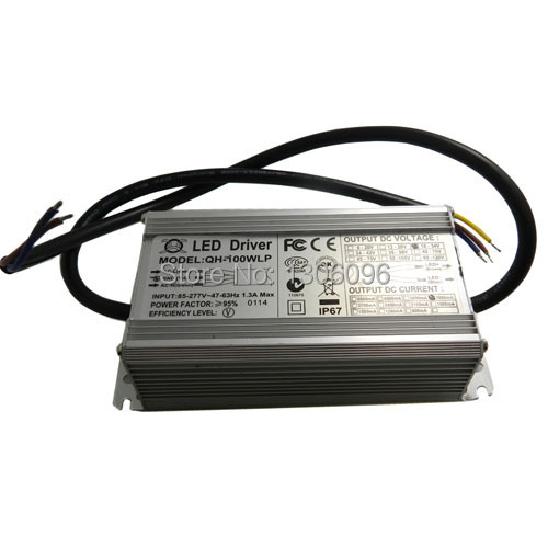 Hot Sale Special Offer Ac 1pcs/lot 100w Led Driver Power Supply for 100watt High Waterproof Ip67 85-265v free Shipping power supply module driver for led ac 85 265v page 4 page 1