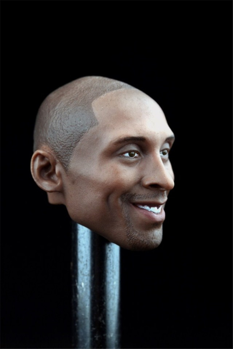 Mnotht Toy 1/6 Scale Male Solider Head Model kobe bryant lakers nba enterbay HEAD ONLY crazy 24 l30 баскетбольную форму lakers