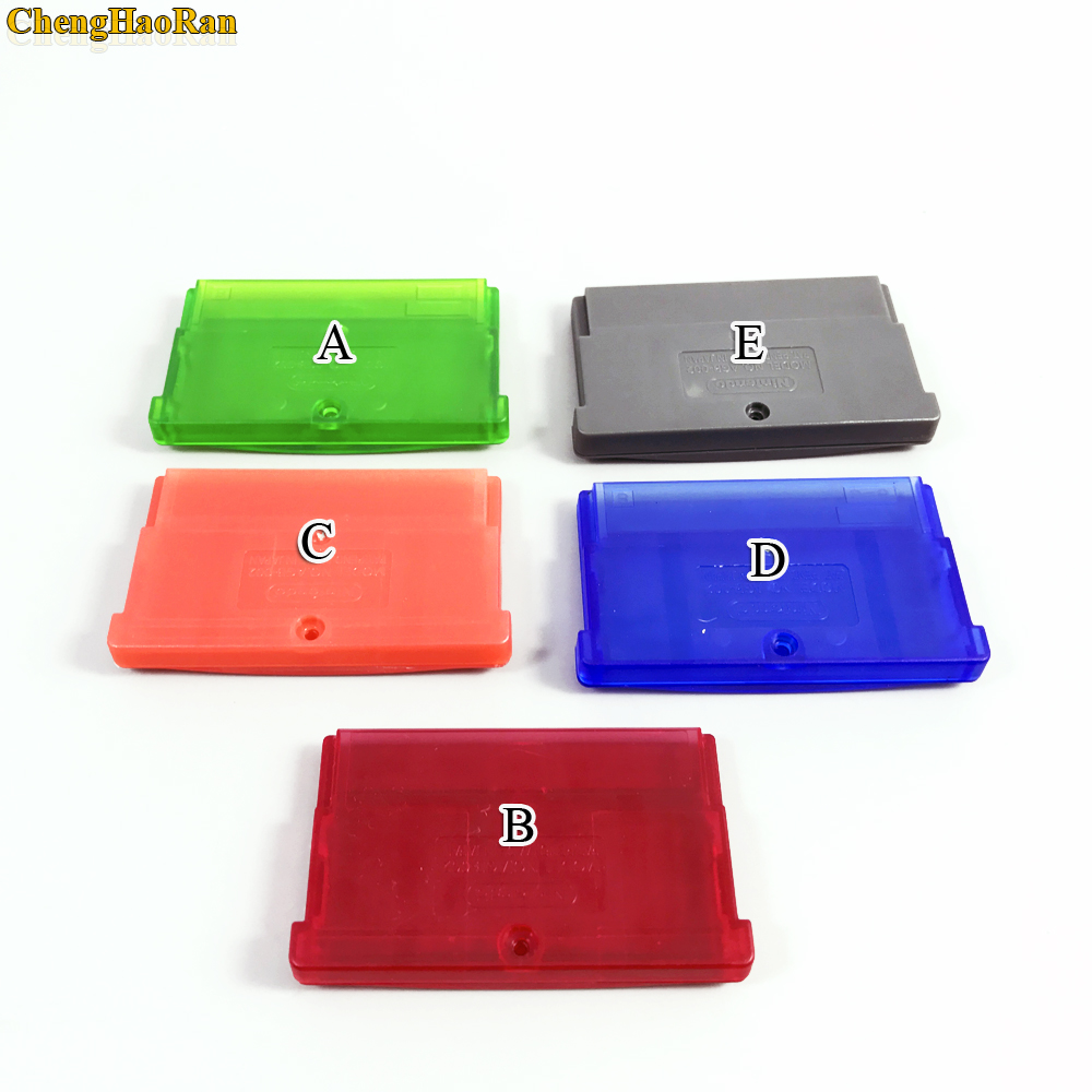 Image 2 - ChengHaoRan 5 color available 1pc For Nintendo GBA, GBA SP, GBM, NDS game cassette shell game card box card holder-in Replacement Parts & Accessories from Consumer Electronics