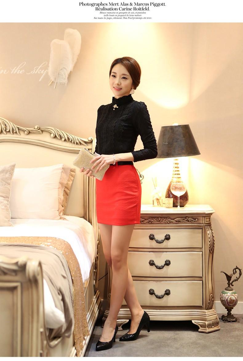 HTB12nzzGVXXXXbdaXXXq6xXFXXXu - New Lace Shirt Women Clothing Blusas Femininas Blouses