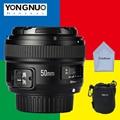 YONGNUO 50mm Lens YN50mm f/1.8 AF/MF Large Aperture Auto Focus for Nikon d3300  d5300 d3200 d7200 Canon 600d 60d EOS DSLR Camera