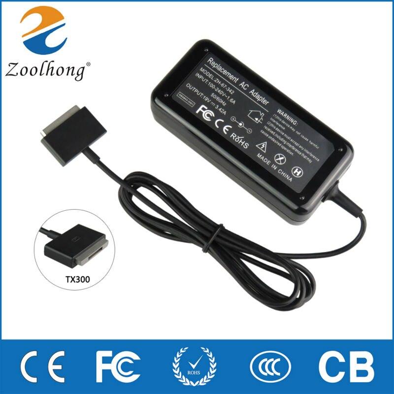 19V 3.42A 65W AC adaptateur secteur pour ordinateur portable chargeur pour ASUS transformateur Book TX300 13.3