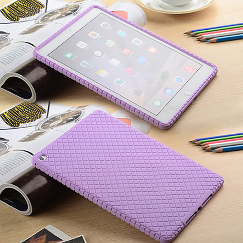 For Apple IPad Air Silicone Case For Ipad6 Tablet PC Silicone Protective Cover