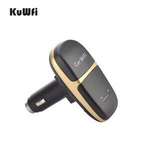 Image 2 - Caricabatteria da auto sbloccato 150Mbps LTE 4G Router Wireless LTE Wifi Modem Hotspot per auto con Slot per schede Sim supporto 10 utenti per condividere Wifi