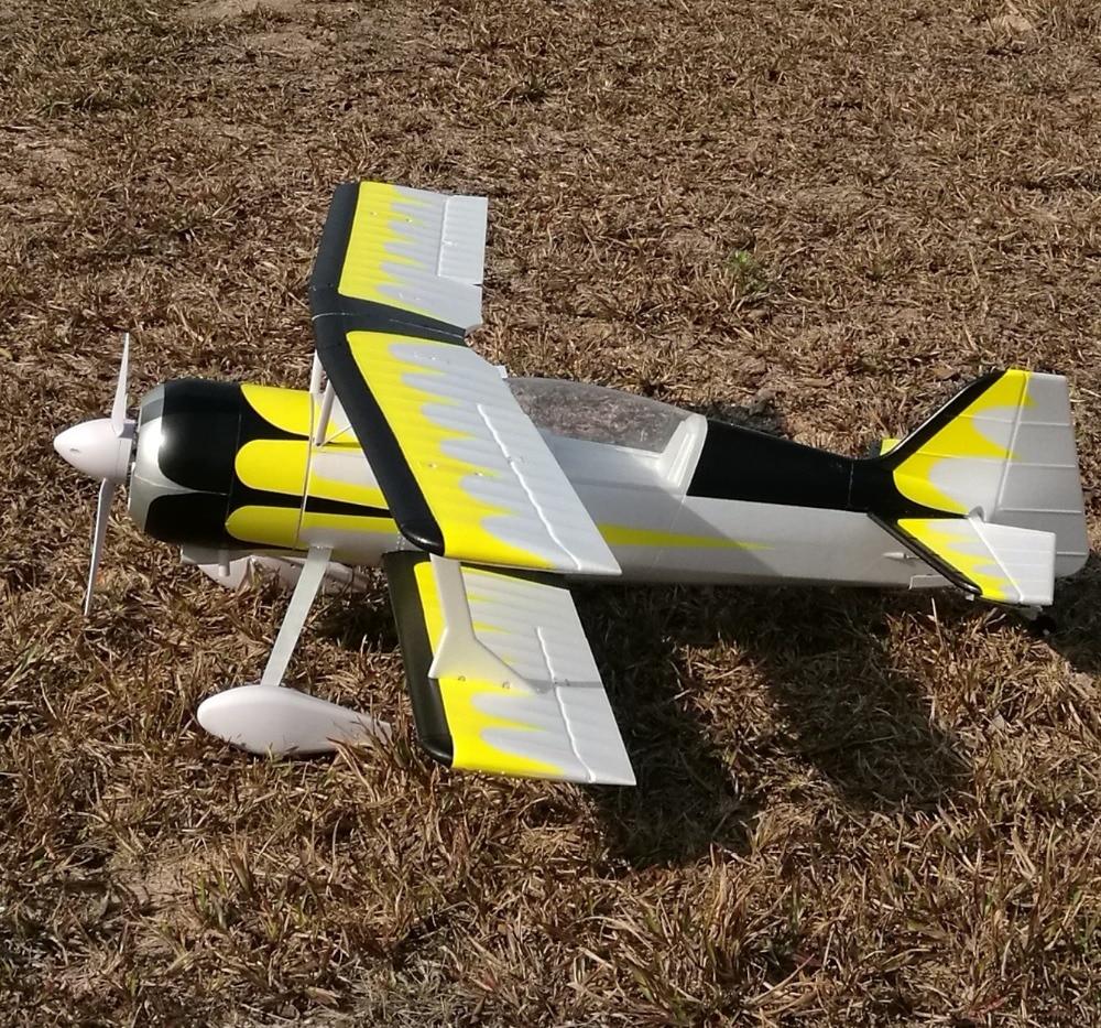 Модель электрического радиоуправляемого самолета EPO Pitts 1400 мм фотоверсия PNP