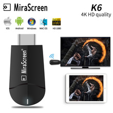 MiraScreen 4K HD Wireless WiFi Display HDMI Dongle Receiver 1080P HD TV Stick Miracast Airplay Mirroring to HDTV Projector