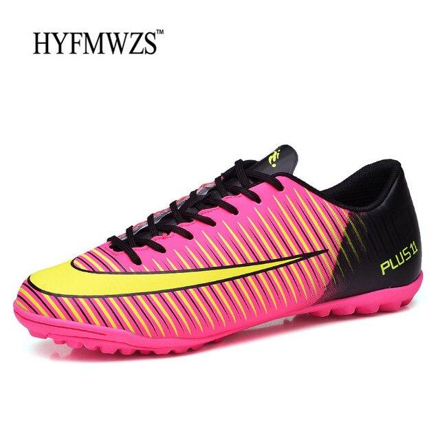Hyfmwzs hombres baratos de alta calidad Zapatillas de Soccer Superfly  original TF fútbol niños Botas interior c7fda5906fcf2