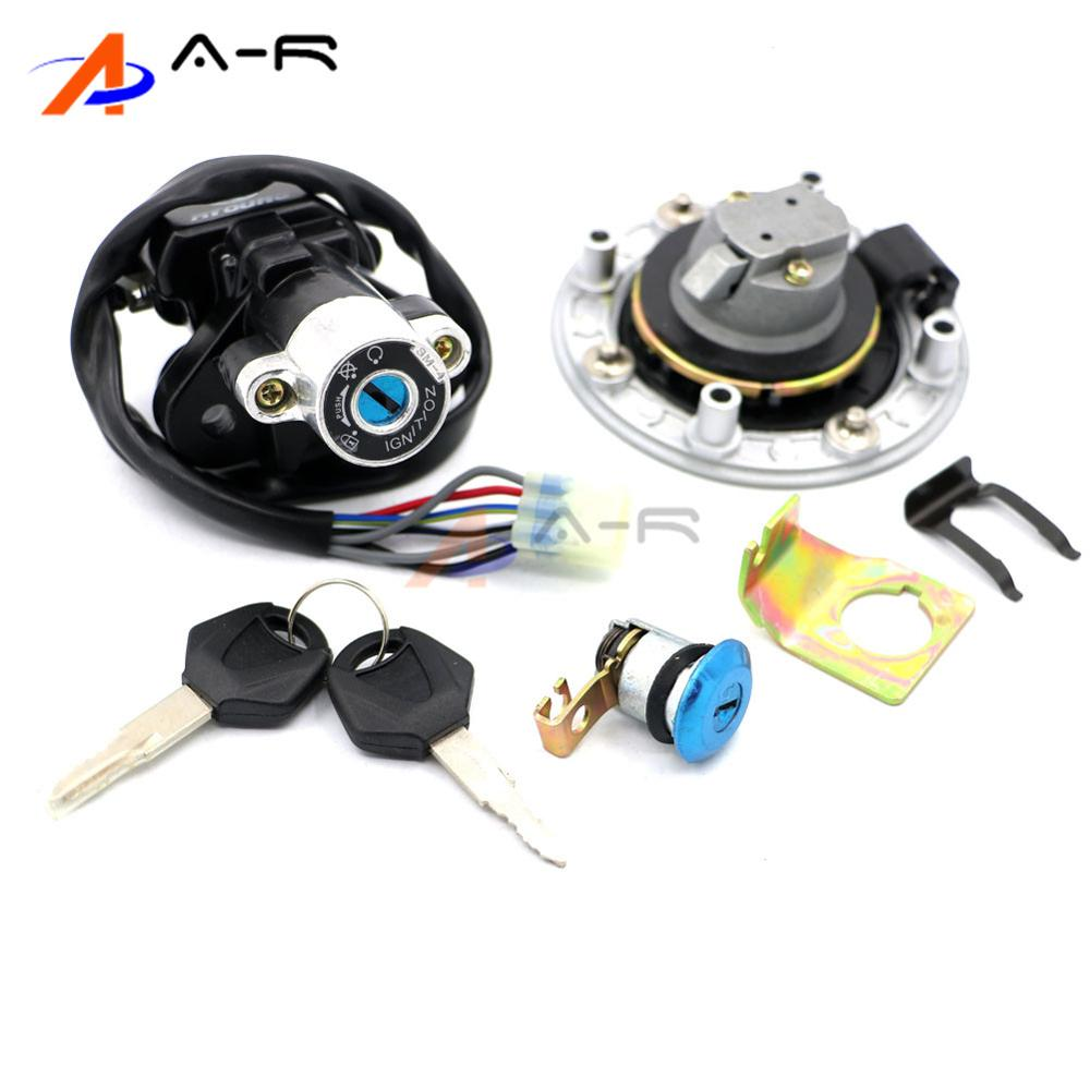 hight resolution of detail feedback questions about motorcycle ignition switch fuel gas tank cap cover seat lock key set kit for suzuki sv650 1999 2002 2001 2000 sv 650 99 00