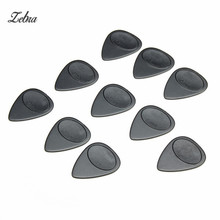 Zebra 10pcs/Set 0.7mm Projecting Nylon Acoustic Electric Guitar Picks Plectrums For Musical Instruments Guitar Parts Accessories