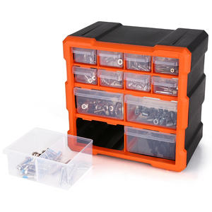 Box-Organizer Container Storage-Box Cabinet-Tools Drawer Plastic-Parts Craft Components