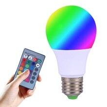 3 5W E27 rgb led high power led lamp night light Lamp Led 16 Colors 24