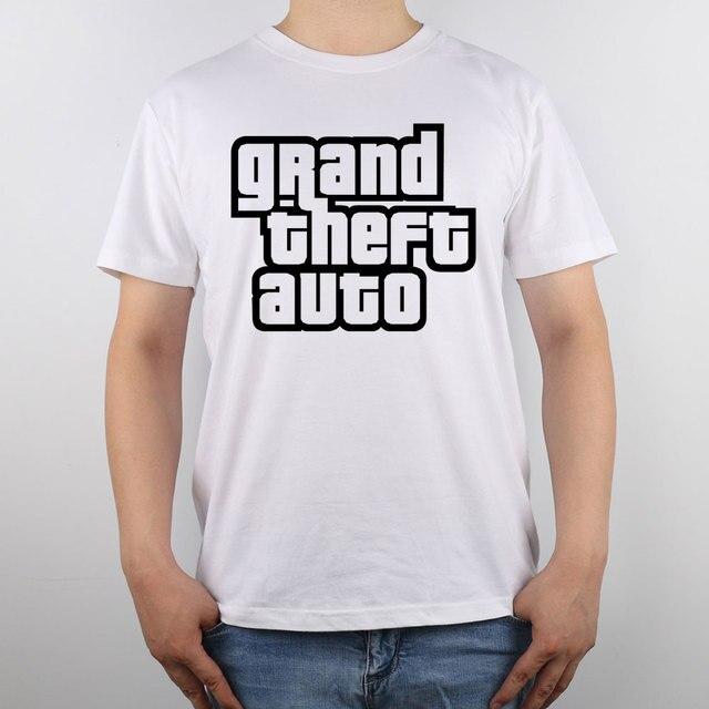Auto Puro City Camiseta Theft Grand Vice Historias Gta Algodón Top gw6Px7