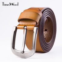 Genuine Real Cowskin Split Leather Belts For Men Casual Pin Buckle Formal Belt Man 110cm 115cm