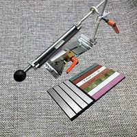 Re-équiper Ruixin Pro système d'affûteuse de couteau inversion pince à couteau 360 degrés pince rotative améliorée croix curseur pierre de diamant