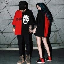 Harajuku Lover T Shirt for Men Women Grim Reaper Print Punk Rock Fashion Graphic T-Shirt Women Cotto