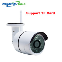 HD IP Camera Outdoor 720P Night Vision ONVIF H.264 Motion Detection Email Alert Remote View Via Smart Phone support SD memory