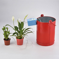 Convenient Micro Automatic Irrigation Set Electronic Controller Garden Plant Watering Timer Home Office Water Irrigation
