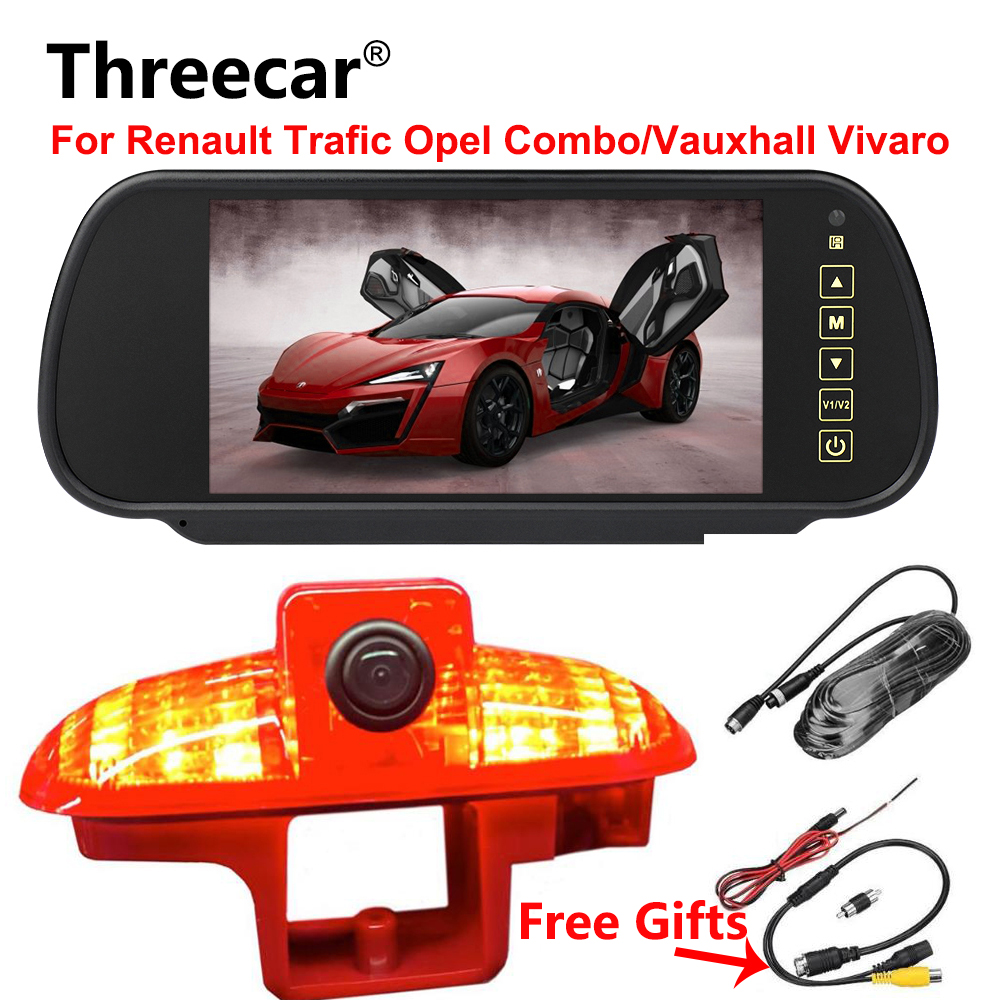 Car Brake Light Rearview camera For Renault Trafic Combo/Vauxhall Vivaro Van Brake Camera Reverse Backup Night Vision WaterproofCar Brake Light Rearview camera For Renault Trafic Combo/Vauxhall Vivaro Van Brake Camera Reverse Backup Night Vision Waterproof