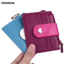 women's thin leather  card bag  bank card bag women's Korean female leather wallet card holder banjini bathroom bag bagping cotton card card card card cotton