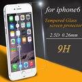 Arco 0.26mm 2.5d para iphone 6 6 s vidrio templado para el iphone sí el vidrio protector de la pantalla para iphone 6 película protectora