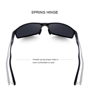 Image 3 - MERRYS تصميم الرجال الكلاسيكية سبائك الألومنيوم النظارات الشمسية HD الاستقطاب النظارات الشمسية للرجال الرياضة في الهواء الطلق UV400 حماية S8266
