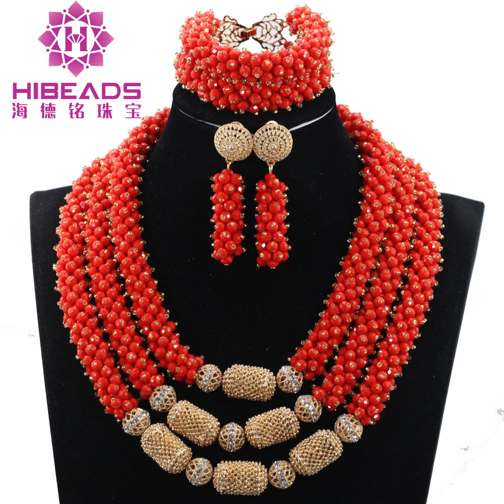 Fantastic Crystal Nigerian Wedding African Beads Jewelry Set African Women Costume Jewelry Set Nigerian Bride Beads QW1124Fantastic Crystal Nigerian Wedding African Beads Jewelry Set African Women Costume Jewelry Set Nigerian Bride Beads QW1124