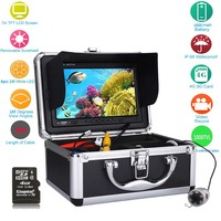 GAMWATER 20M 30M 50M 7 Color Digital 1000TVL Fish Finder HD DVR Recorder Waterproof Fishing Video