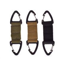 Strap-Clip Part-Accessories Key-Holder Hook Carabiner Buckle Webbing Diy-Bag Tactical-Belt