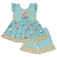 Одежда для девочек Детская летняя одежда для девочек изысканные наряды CONICE NINI для девочек, одежда для маленьких девочек 2GK902-1054