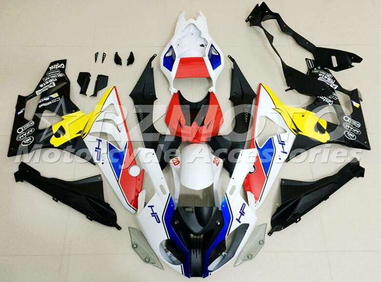 New ABS Fairings For BMW S1000RR 09 12 13 14 1000RR 2009 - 2014 Injection Mold Motorcycle Fairing Kit Bodywork set red blue UK image