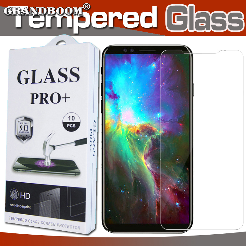 100pcs 9H Premium Tempered Glass For iPhone XS Max XR X 8 7 6 6S Plus SE 5 5S Screen Protector Protective Film With New Package