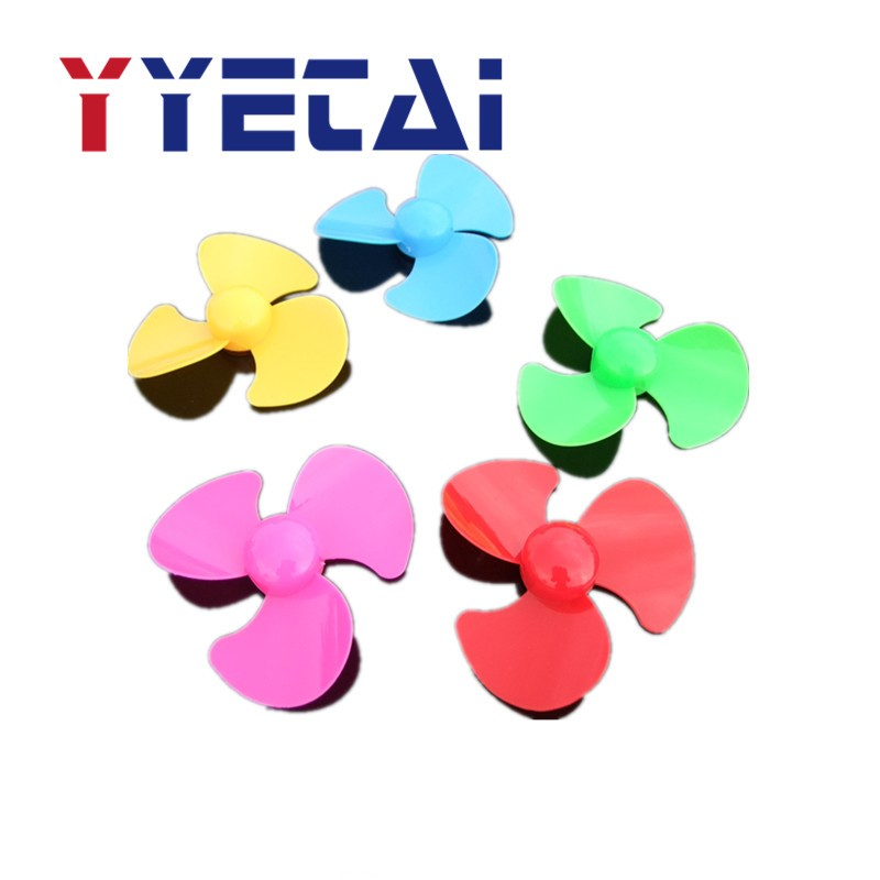 YongYeTai 50mm Three-blade Propeller DIY Creative Toy Accessories Remote Control Car Model Free Shipping