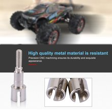 цена на 1PCS Wheel Axle Shafts Adapter Drive Axle Cup Wheel Axle Shafts Upgrade Spare Accessories For XLH 9125 RC Car