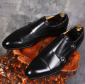 2017 итальянская мужская обувь ручной работы из натуральной кожи; мужская деловая обувь черного цвета наивысшего качества; chaussure homme EU45