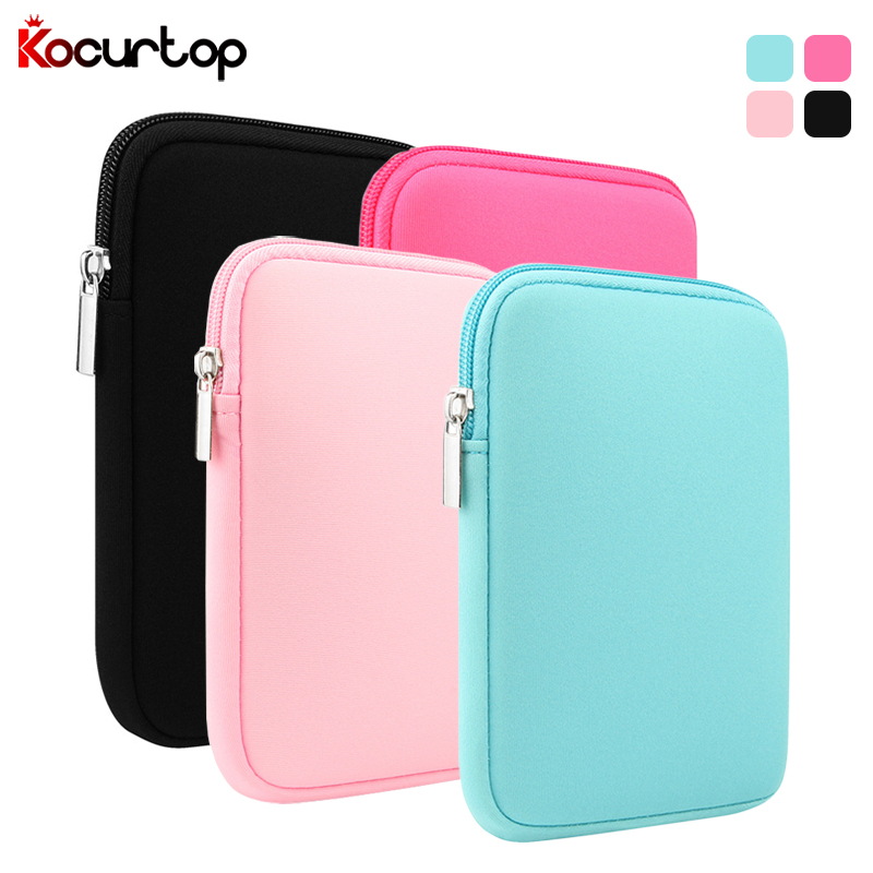 Soft Tablet Sleeve Case For Apple iPad 2019 2019 9.7 Cover For iPad Air 1 Air 2 For iPad 3 4 5 6 Retina Pro 9.7 Solid Pouch Bag