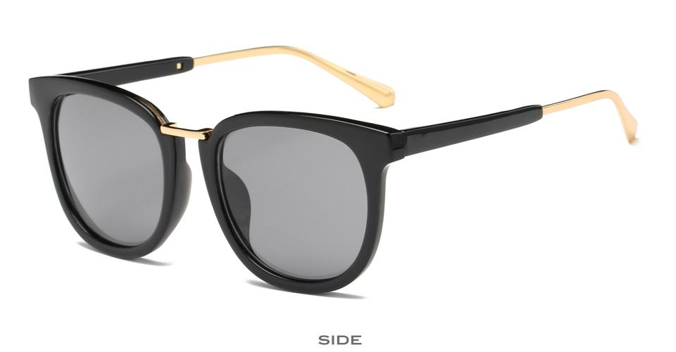 Mujeres clásico gafas mujeres salvaje oval espejo KH401-434 vendimia de las mujeres gafas de sol oculos de sol feminino