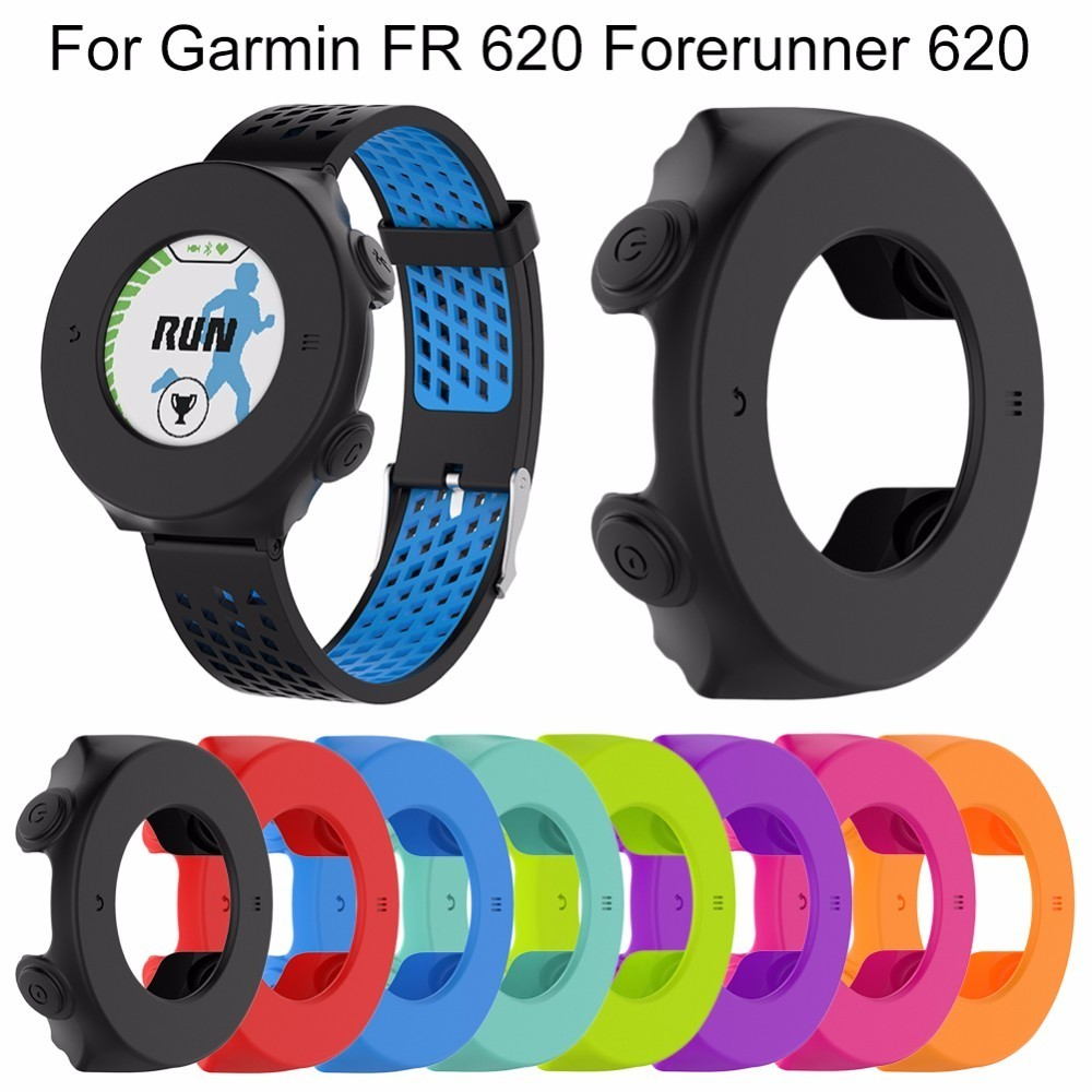 Replacement Watch Case Silicone Protector Cover Protective Forerunner 620 Orange White Shell For Garmin Fr Gps Sports In Smart Accessories From Consumer