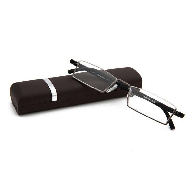 b6aabed459 UVLAIK Vintage gafas de lectura mujeres hombres Retro aleación prescripción  gafas rectángulo negocios hiperopía gafas de